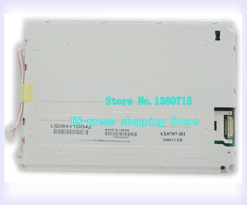90% nueva pantalla LCD para 8,4 pulgadas LQ084V1DG21 LQ084V1DG42 garantía de 1 año