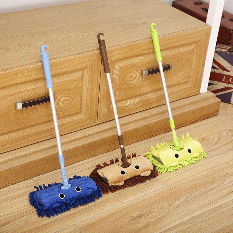 1 ud., fregona original Mini recogedor, mopa pequeña madre ayudante 360, fregona giratoria para limpiar esquinas, Herramientas de limpieza para el hogar