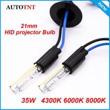 Ampoules au xénon 12v 35w 21mm   Auto HID, pour Koito Q5 Bi, 3.0 pouces, objectif du projecteur, 2 pièces
