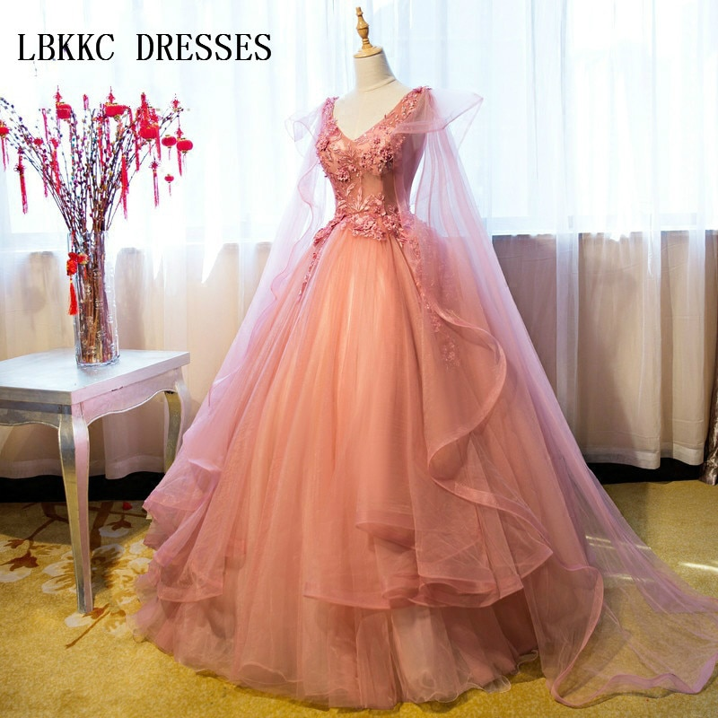 Nude Pink Quinceanera Dresses Backless Ball Gown Puffy  Sweet 16 Gowns Prom Vestidos De Quinceaneras