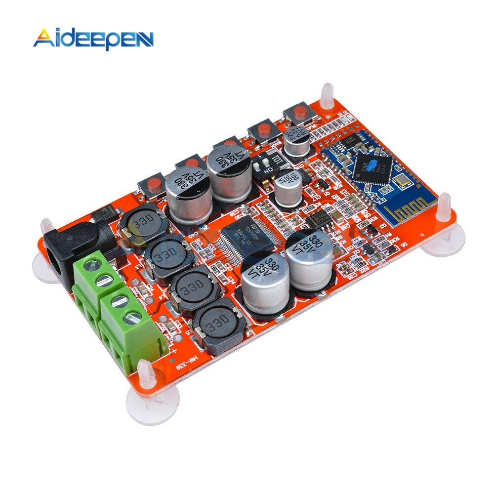 DC 8-25V TDA7492P 50W + 50W 2X50W inalámbrico Bluetooth 4,0 Audio receptor Digital placa amplificadora roja