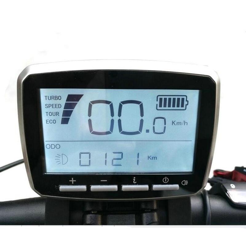 Pantalla LCD de VLCD-5 Tongsheng para Sensor de torsión TSDZ2 TSDZ3 Motor de accionamiento medio, Conector de 6 pines y 8 pines para opciones, envío gratis