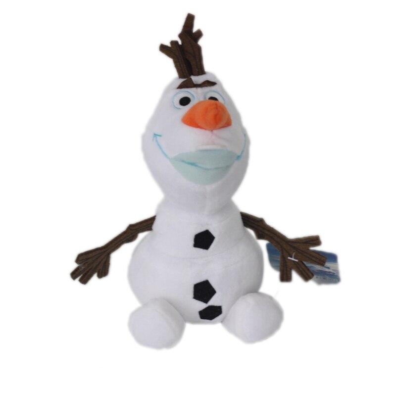 Olaf Plüsch Kinder Spielzeug Kawaii 20cm Schneemann Cartoon Plüsch Spielzeug Puppe Weiche Angefüllte Spielzeug mit tag Brinquedos Juguetes Geschenk für kinder
