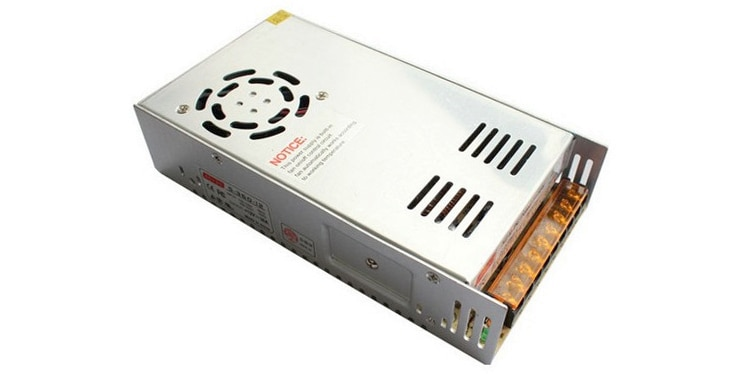 16 v 20a 320 watts ac/dc que monitora a fonte de alimentação de comutação 320 w 16 volts 20 ampères que comutam o transformador do adaptador de energia industrial