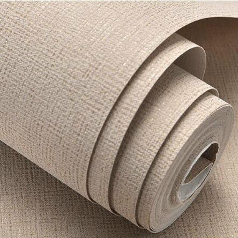 Weiß, Beige, Braun Strukturierte Einfache Klar Einfarbig Wand Papier Moderne Design Tapete Rolle Wohnkultur