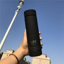 Izolować termos kubek do herbaty z kubek termiczny z sitkiem termos filiżanka kawy Stainles stalowa butelka termiczna termos z pokrywką ST086