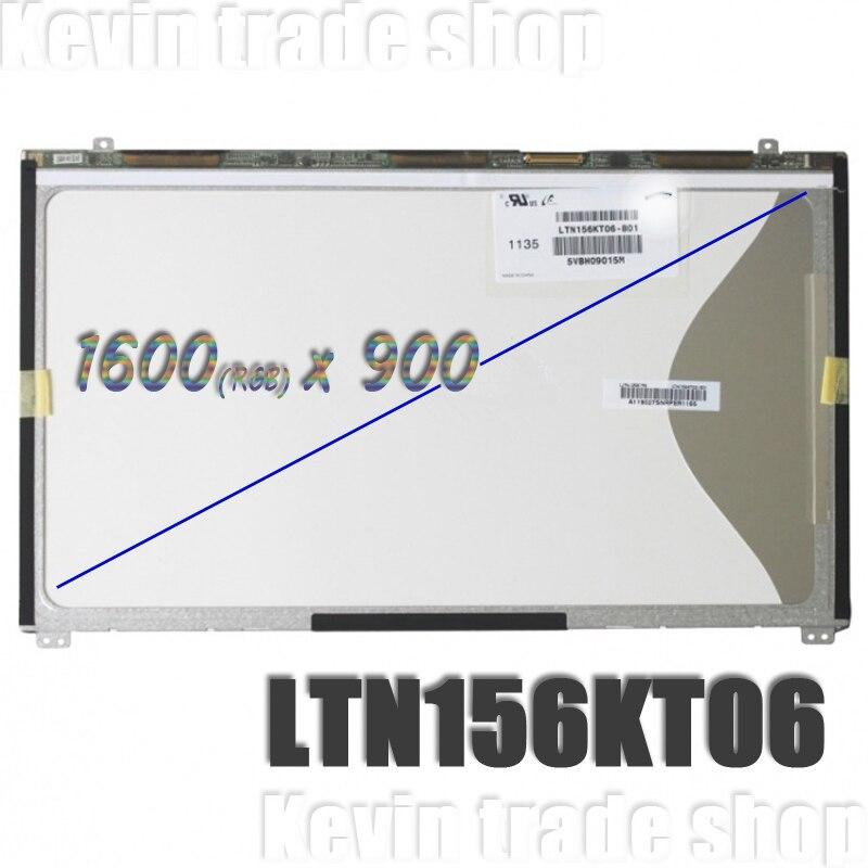 ЖК-экран 15,6 дюйма LTN156KT06, светодиодный матричный дисплей для ноутбука Samsung NP550P5C, LTN156KT06-801, бесплатная доставка