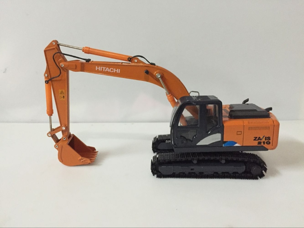 Rare! Hitachi ZAXIS 210 Hydraulic Excavator 1/40 Scale DieCast Model