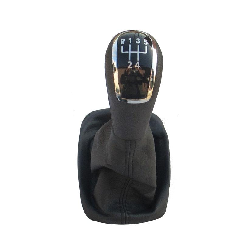 5 6 Speed Car Shift Knob Auto Gear shifter Manual Lever For Skoda Fabia MK II MK2 2000 2001 2002 2003 2004 2005 2006 2007 2008