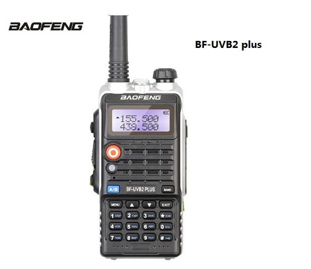 BaoFeng BF-UVB2 CB радио рация двухстороннее радио коммуникатор для Baofeng UV-B2 plus мобильный коммуникатор