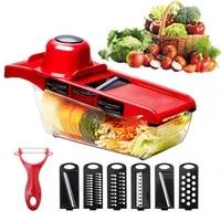 meijuner vegetable cutter vegetable slicer chopper fruit cutter blades grater fruit peeler potato tools kitchen accessories
