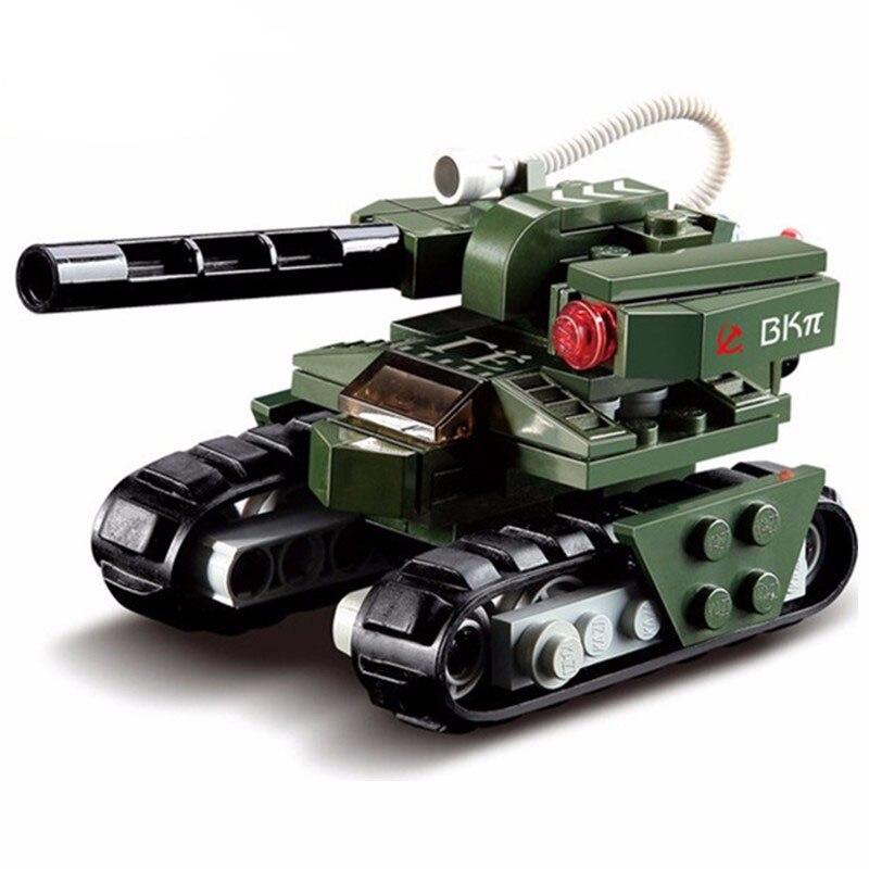 103 Uds. Bloque de construcción alerta roja 3 tanque de martillo tanque militar soviético Compatible con ladrillos líderes juguete para regalo