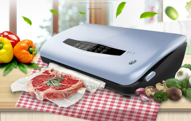 Vacuum Food Sealers packaging machine commercial household dry wet small plastic bag sealing NEW