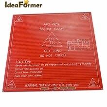 Imprimante 3D RepRap imprimante 3D PCB lit chauffant MK2B lit chauffant plaque chauffante pour Prusa Mendel