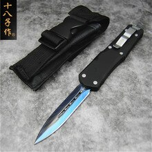 High quality  Ripper,BladeM390(Satin) Handle7075Aluminum+CF,survival outdoor EDC hunt Tactical tool dinner kitchen knife