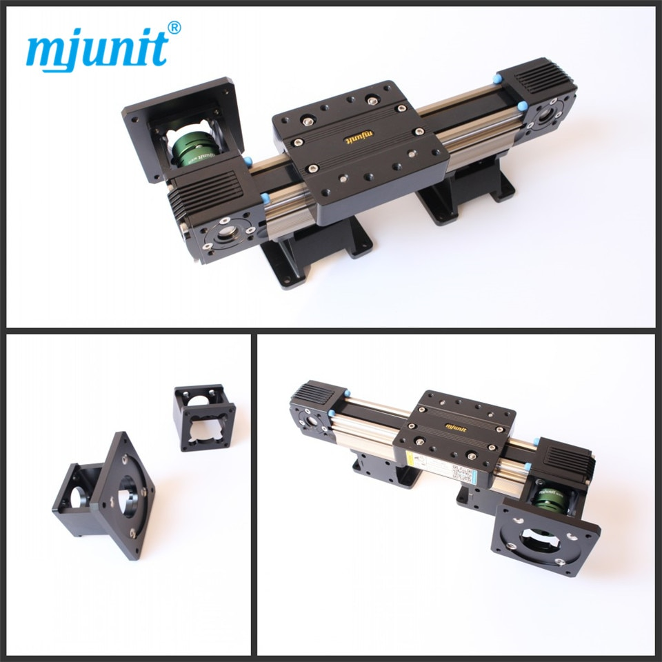 Mjunit-حزام سكة حديد خطي MJ45 ، دليل خطي بمحرك ، محرك متدرج لتحديد المواقع ، المرحلة الخطية