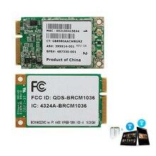 Mini Dual Band BCM94322MC Wireless-N WIFI 300M PCI-E Card For HP SPS:487330-001