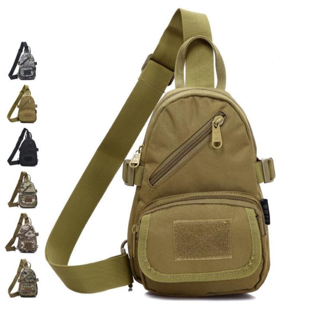 Men  Casual  Waterproof 10000D Nylon Travel Cross Body Messenger Shoulder Pack Sling Chest Bag Pouch