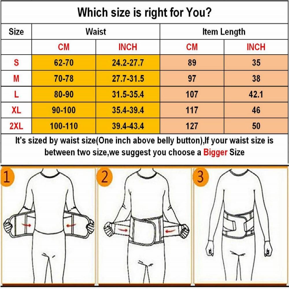 Купить с кэшбэком Waist Trimmer Belt Back Support Adjustable Abdominal Elastic Waist Trainer Hourglass Body Shaper Stomach Shaper and Back Support