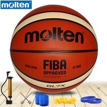 Ballon de basket-ball dorigine en fusion GL7 GL7X nouvelle marque de haute qualité en cuir fondu véritable matériel officiel de basket-ball taille 7