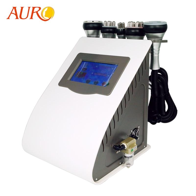 AURO 2020 New Technology 5 in 1 Vacuum Lipo Ultrasonic Cavitation RF Slimming Machine Best Sellers Products Salon Equipment