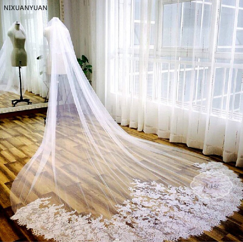 new-gorgeous-2021-3-5m3m-white-ivory-beautiful-cathedral-length-lace-edge-wedding-bridal-veil-with-comb-wedding-accessories