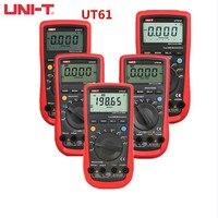 UNI-T UT61A UT61B UT61C UT61D UT61E True RMS Digital Multimeter/Analog Bar/Large Capacitance Measurement/Automatic Shutdown