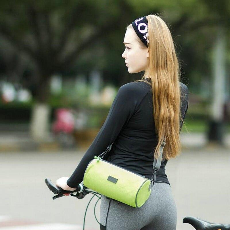 Wodoodporny Ekran Dotykowy Sakwy Rowerowe Rower Górski Rower Torby Phone Bag Case Rower Szosowy Rura Przednia Kierownica Torba Cylindra 5