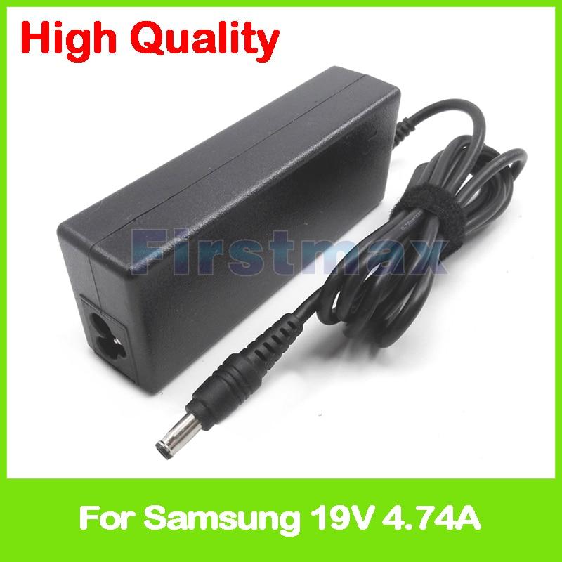 19V 4.74A adaptador de alimentación de CA para Samsung cargador R481 R503 R505 R507 R508 R509 R510 R513 R515 R517 R518 R518H R519 pc portátil