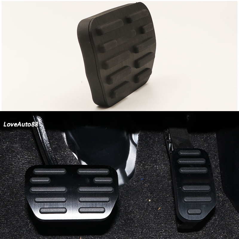 Auto Accelerator Gas Pedal Abdeckung Bremse Fuß Pedal Pads Kraftstoff Bremse Kupplung AT pedale Abdeckung Für Toyota RAV4 RAV-4 2014 -2018
