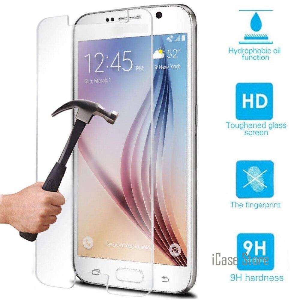 9H Premium Vidro Temperado Protetor de Tela Para Samsung Galaxy S3 S4 S5 S6 J2 A3 A5 J3 J5 J7 2016 2015 Grande Prime Prime G532F