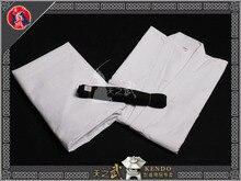 Top Quality Korea Style Kendo Aikido Iaido Hakama Gi Belt Martial Arts Uniform Sportswear Kimono Dobok Free Shipping