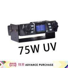 QYT kt-980plus estación de radio de coche, walkie talkie altavoces telsiz transceptor intercomunicador columna doble banda potente