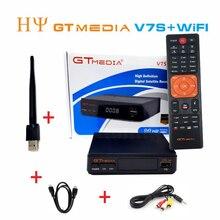 5pcs/10pcs [Genuine] GTMEDIA V7S Freesat V7 HD with USB Wifi DVB-S2 HD Satellite TV Receiver Support PowerVu Biss Key md Newcamd