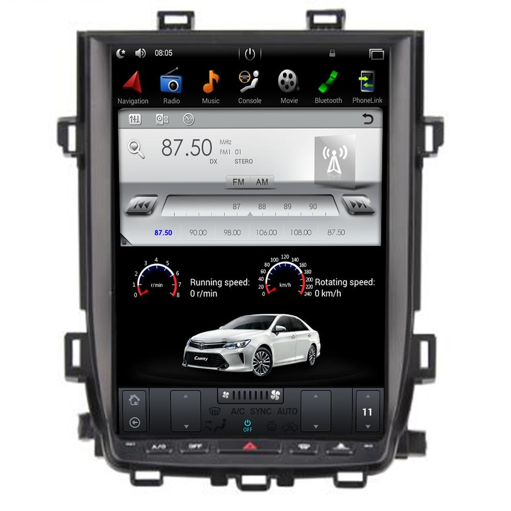 Android 9,0 de 7,1 Tesla estilo coche reproductor de DVD de navegación GPS Radio para Toyota Alphard Vellfire 20 de la serie 2010 de 2011 a 2012 2013, 2014
