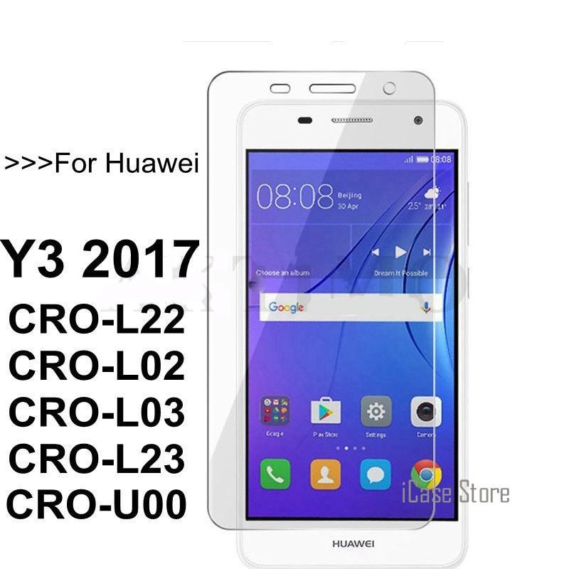 Para Huawei Y3 2017 Y 3 2017 CRO-L02 CRO-L22 Film Protector de...