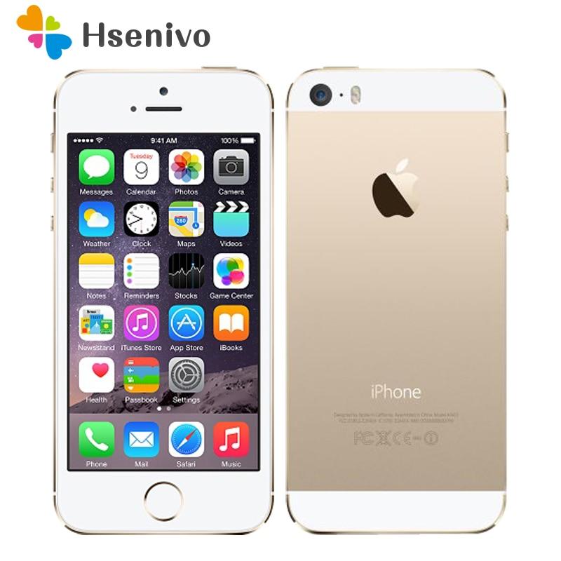 "Apple iPhone 5S Original Handys Dual Core 4 ""IPS Verwendet Telefon 8MP 1080P Smartphone GPS iPhone5s telefon entsperrt renoviert"