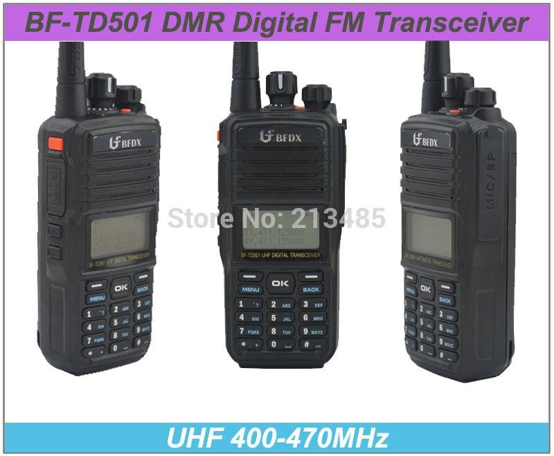 BFDX BF-TD501 UHF 400-470MHz DMR Digital FM Transceiver