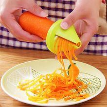 Кухонные гаджеты, модель воронки, устройство для измельчения овощей, спиральная слайсер, морковь, редиска, спиральный тип, с воронкой, резак, кухонные инструменты