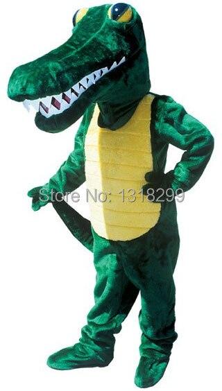 mascot gator aligator Crocodile mascot costume fancy dress custom fancy costume cosplay theme mascotte carnival