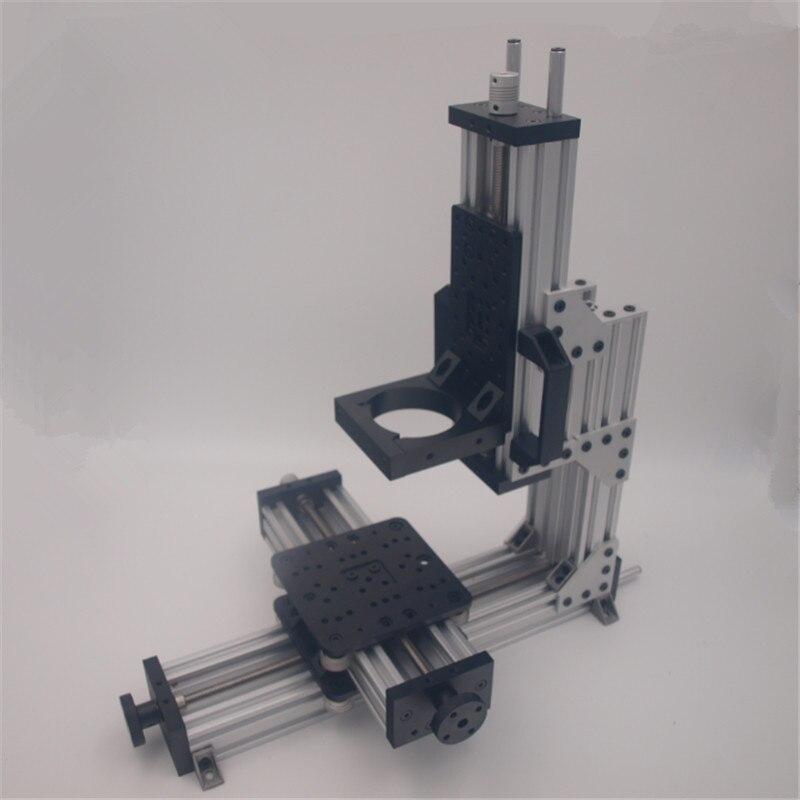 Kit de paquete mecánico CNC Micro MiniMill máquina Modular de 3 ejes no montada