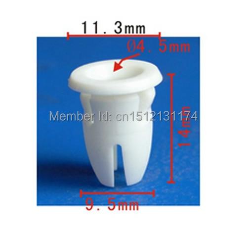 500 piezas para Benz 001-988-76-81 de moldeo insertar Clips W107 W108 W109 W110 W111 w114/8 W115 W116 W123 W124 W126 W129