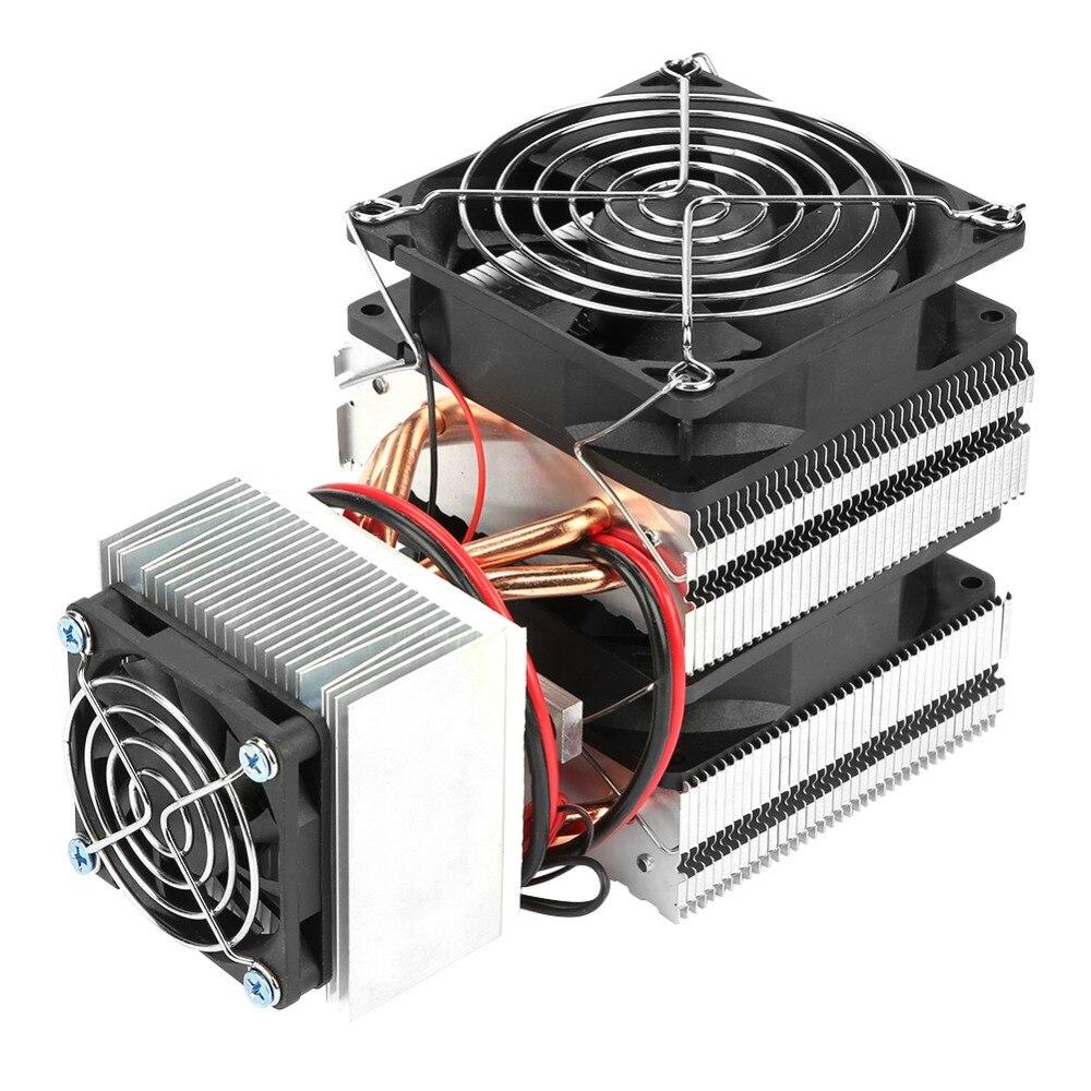 DC 12V 20A 180W 12715 Semiconductor Refrigeration Peltier Cooler Air Cooling Radiator DIY Mini Fridge Cooling System