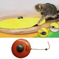 17*21*21CM Plastic Toys For Cats Play Plate Style One Color Pet Toy For Cat Keep The Cat Ready YWT