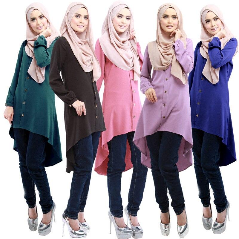 Femmes musulmanes à manches longues hijab robe maxi abaya jalabiya femmes islamiques robe vêtements robe caftan mode marocaine turquie dubaï