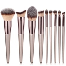 1Piece Champagne Gold Makeup Brushes Eyeshadow Eyebrow Foundation Concealer Brush Make up Tools