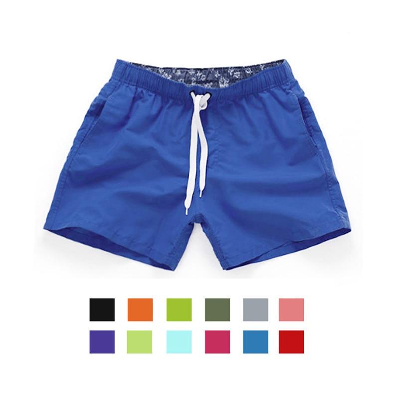 Мужские шорты на шнурке Vertvie пляжные плавки для купания летние бермуды серфинга