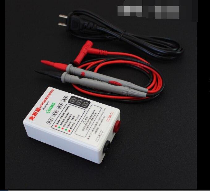 Todo o tamanho ccfl eefl testador de tela da lâmpada lcd tv portátil backlight tester saída atual & tensão ajuste inteligente gj3a gj3c
