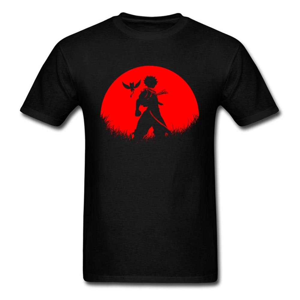 Camiseta de Dragon Slayer De Luna Roja, camisetas de diseño de Anime para hombre, camisetas de tela de algodón con Dragon Ball 100%, camisetas para estudiantes