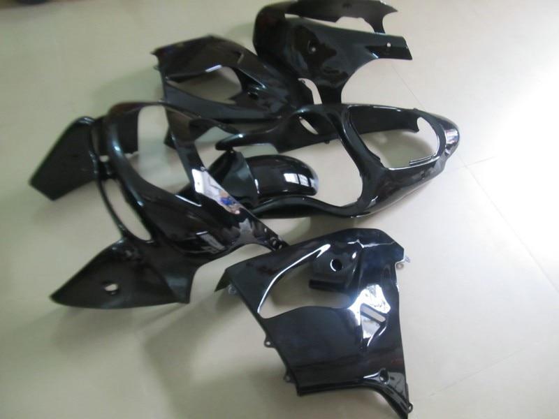 Parafusos grátis + presentes para kawasaki zx9r ninja zx-9r zx 9r 1998-1999 corpo o324 9 R 98 99 Carenagem ZX9 R 1998 1999 All Black H324 Kit